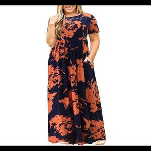 Dresses & Skirts - 🆕  Plus Size Long Maxi Dress with Pockets